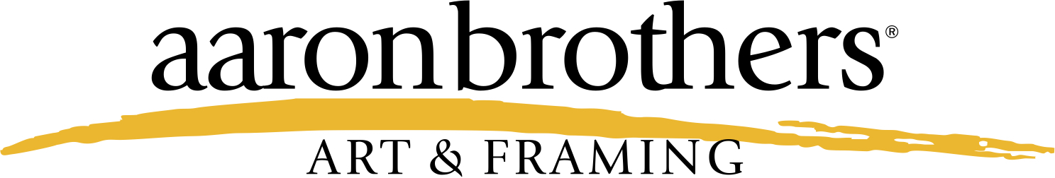 retail framing and crafts brand logo